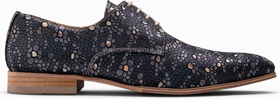 Paulo Bellini Dress Shoe Carbonia Black Bronze
