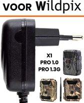 Adapter voor Wildpix Wildcamera - Voeding - 12V - X1 - Pro 1.0 - Pro 1.3G