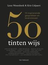 Boek cover 50 tinten wijs van Lynn Wesenbeek