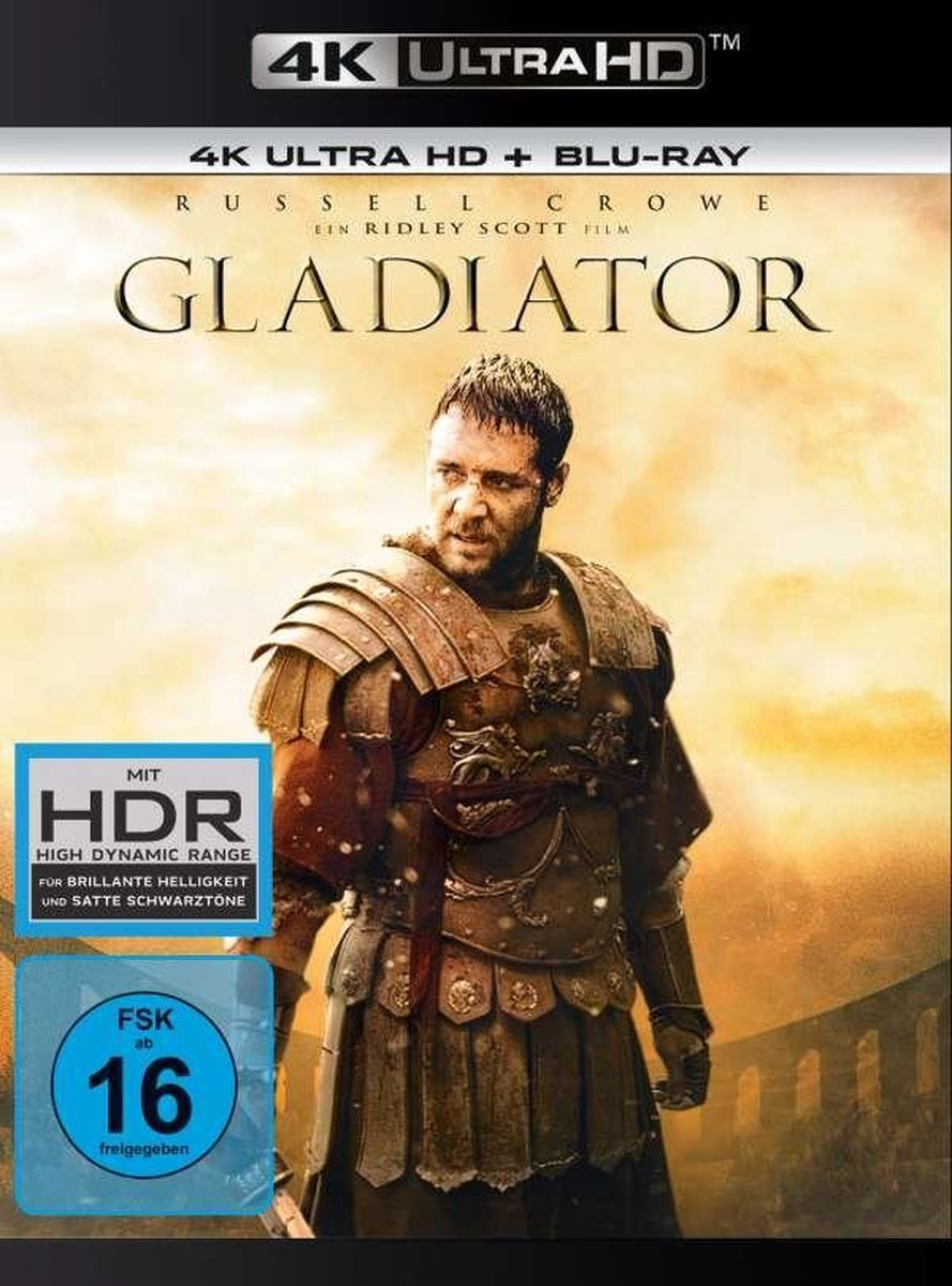 Gladiator (1999) (Ultra HD Blu-ray & Blu-ray)-
