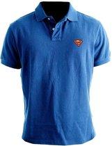 Superman Classic Logo Polo Xl