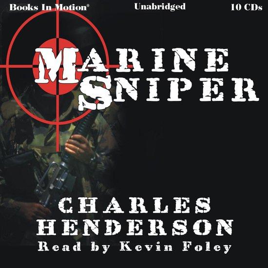 Boek cover Marine Sniper van Charles Henderson (Onbekend)