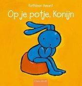 Boek cover Op je potje, Konijn van Kathleen Amant (Hardcover)