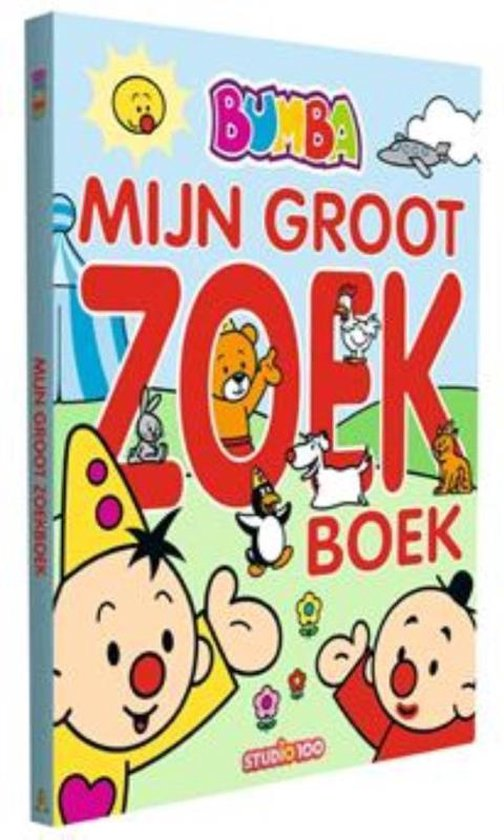 Boek cover Bumba: Kijk- en zoekboek 0 -   Mijn groot zoekboek van Gert Verhulst (Hardcover)