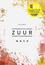 Boek cover Zuur van Bas Robben
