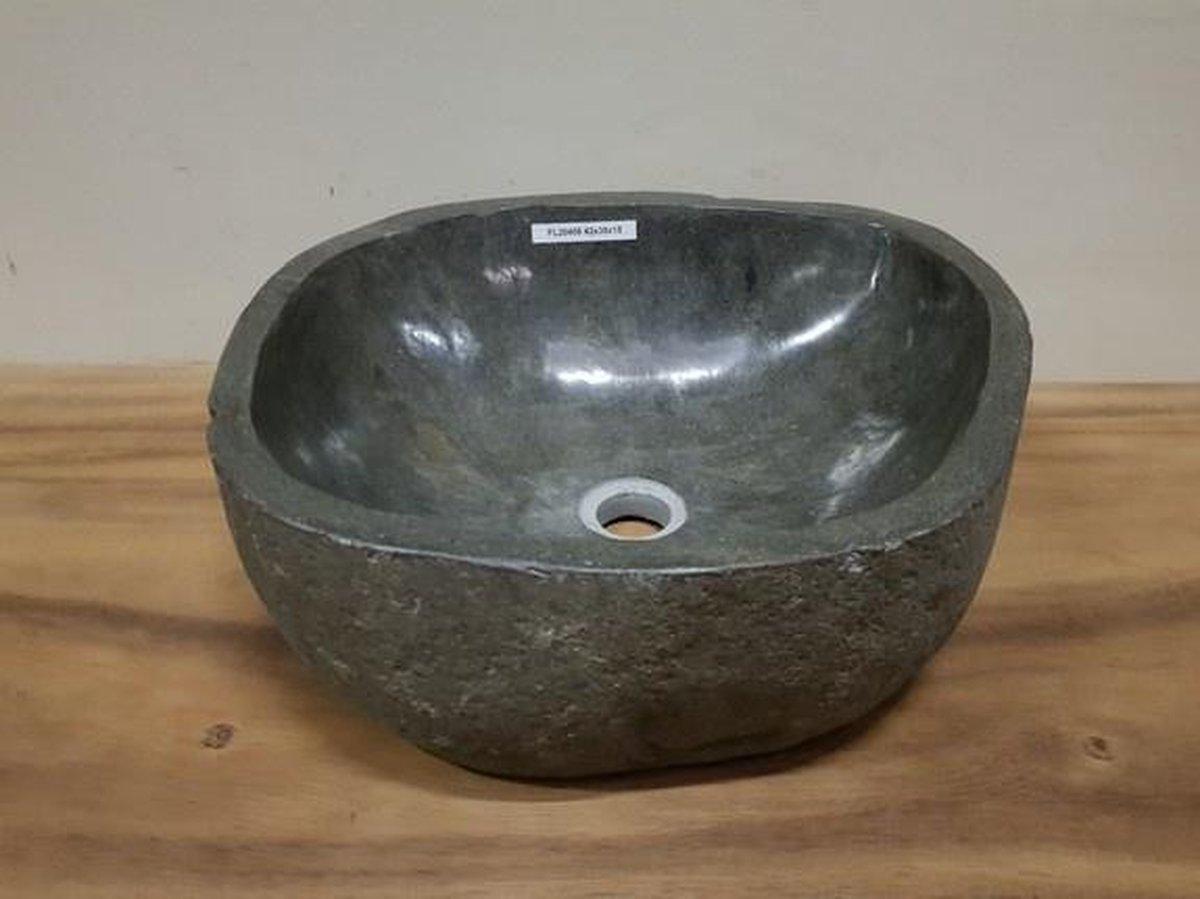Waskom natuursteen FL20408 - 42x38x15cm