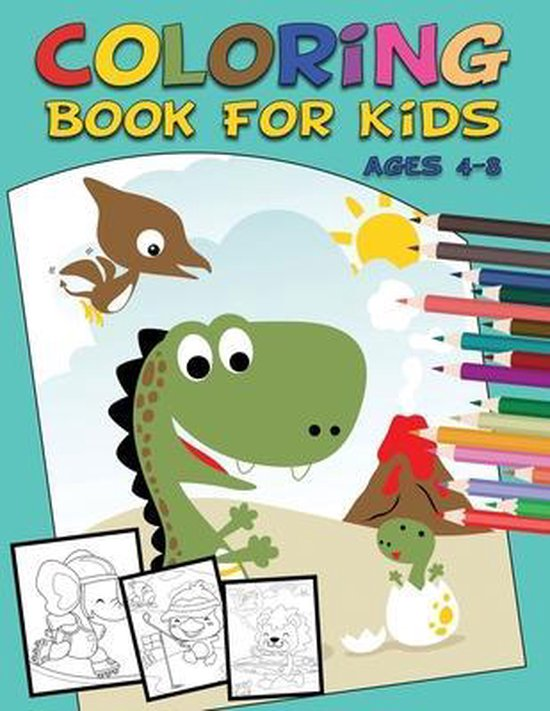 Coloring Book for Kids Ages 4-8