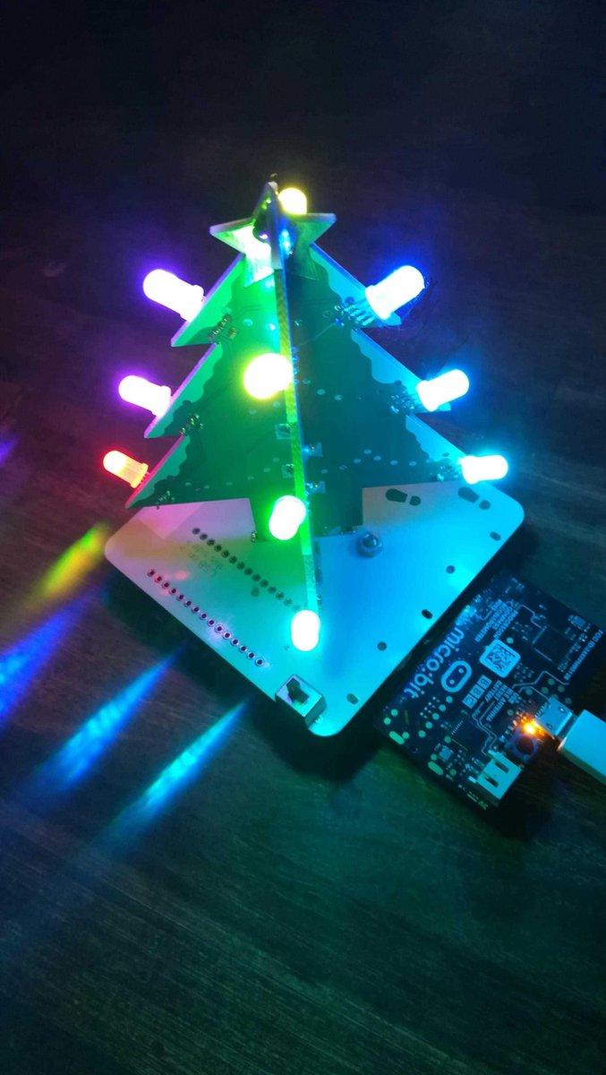 XMJ-APAS Programmeerbare Kerstboom (Micro:bit en Arduino)