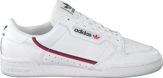 adidas Continental 80 Heren Sneakers - Cloud White/Scarlet/Collegiate Navy - Maat 44 2/3