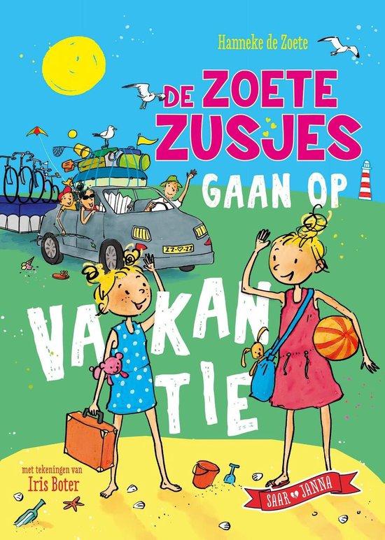 Boek cover De zoete zusjes gaan op vakantie van Hanneke de Zoete (Onbekend)