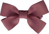 Haarspeldjes met strik medium winter mauve | Roze, Paars | Meisje