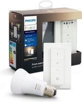 Philips Hue Slimme verlichting Light recipe kit - White Ambiance - E27 - Bluetooth - Met dimmer switch
