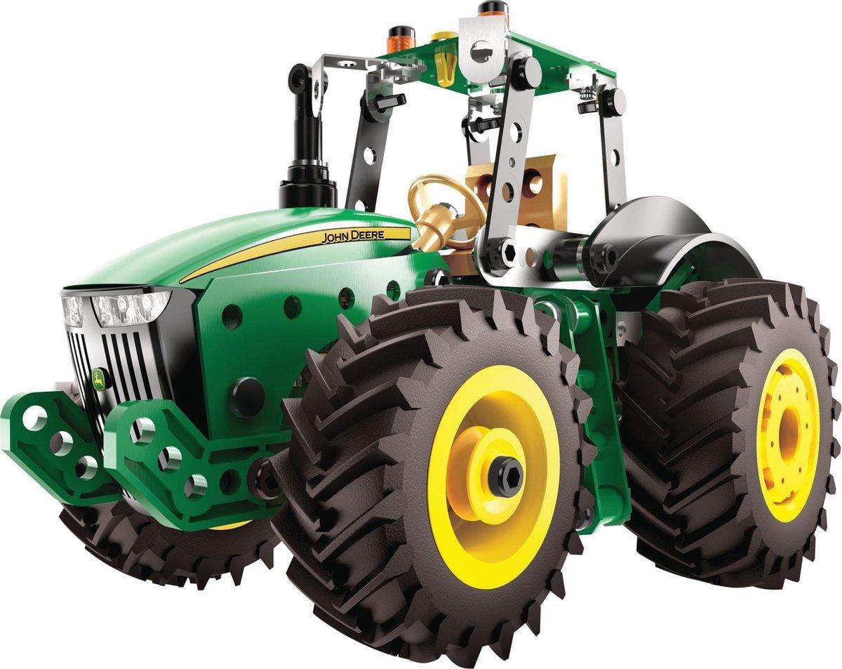 Meccano John Deere tractor 8RT bouwset