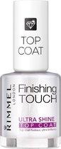 Rimmel London Finishing Touch Ultra Shine Nagellak Topcoat - Transparent