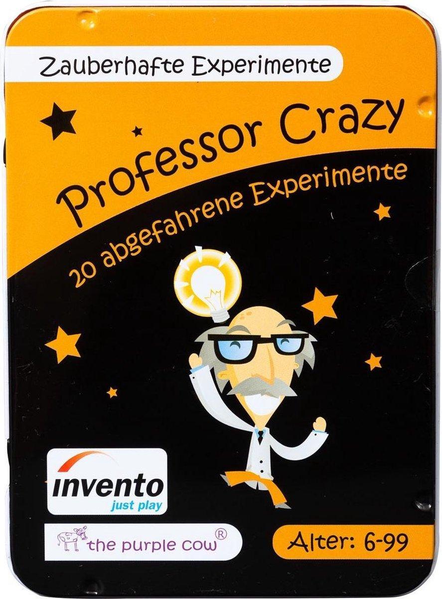 Invento Professor Crazy Magische Experimenten Junior 20 Kaarten