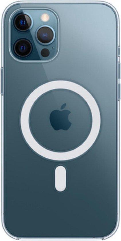 Hoesje met MagSafe voor iPhone 12 Pro Max - Transparant