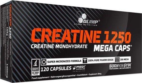 Olimp Supplements Creatine Mega Caps 1250 - 120 capsules