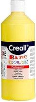 Creall plakkaatverf Basic Color 500ml - Geel