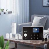 Alarmhub 2 plus alarmsysteem zonder camera - Cijferpaneel - Melding via app, SMS en oproep - Uitbreidbaar - Thuis zone - Vertragingstijd - SIM kaart - RFID tag
