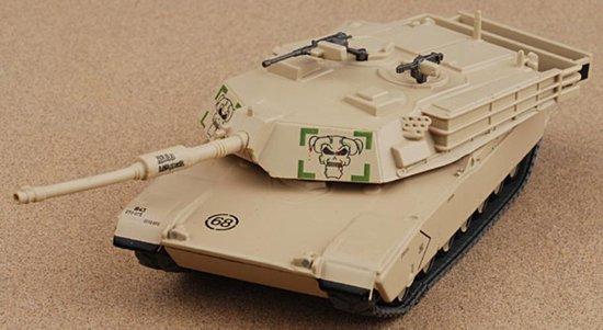 M1 Leger Tank Die Cast 1/72 - Leger - Army - Modelauto - Schaalmodel - Leger model