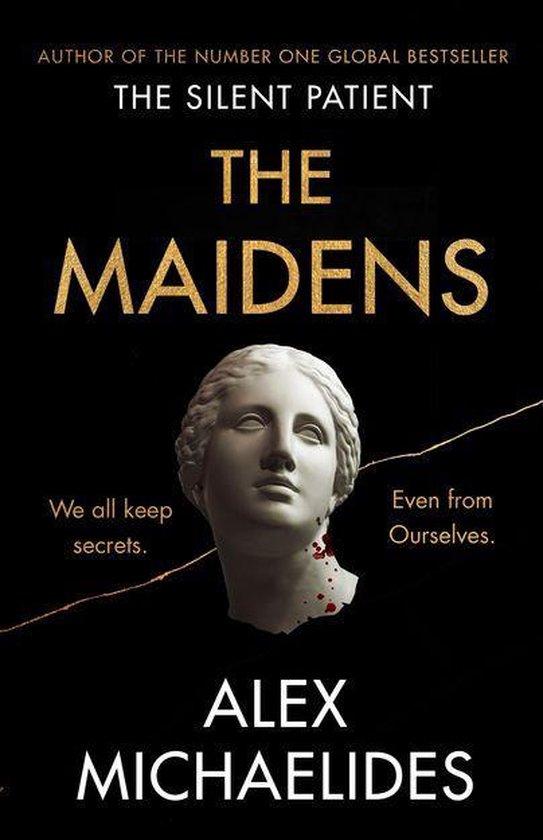 Boek cover The Maidens van Alex Michaelides (Onbekend)