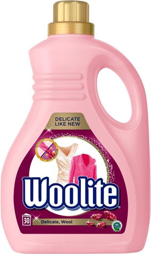 Woolite Wasmiddel Delicate Stoffen Wol en Zijde 1,8L - 30 wasbeurten