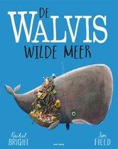 Boek cover De walvis wilde meer van Rachel Bright (Hardcover)
