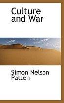 Omslag Culture and War