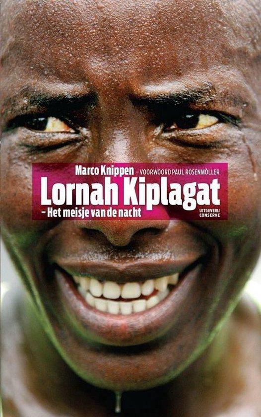 Cover van het boek 'Lornah Kiplagat - Het meisje van de nacht'