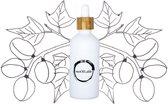 Kukui olie - glazen pipet flesje 100ml (navulbaar en plasticvrij verpakt)