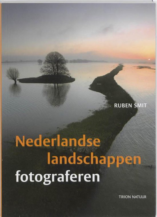 Cover van het boek 'Nederlandse landschappen fotograferen'