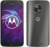 MP Case Transparant back cover voor Motorola Moto X4 Achterkant/backcover