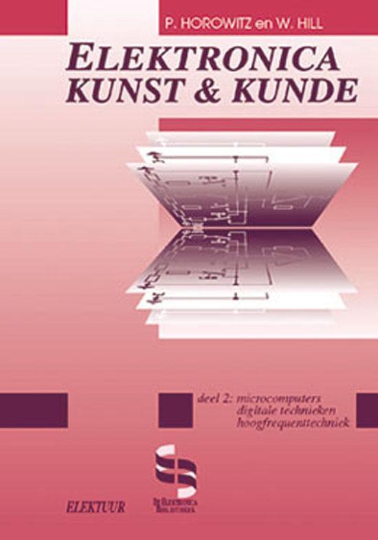 Cover van het boek 'Electronica, kunst & kunde / 2 Microcomputers, digitale technieken, hoogfrequenttechniek'