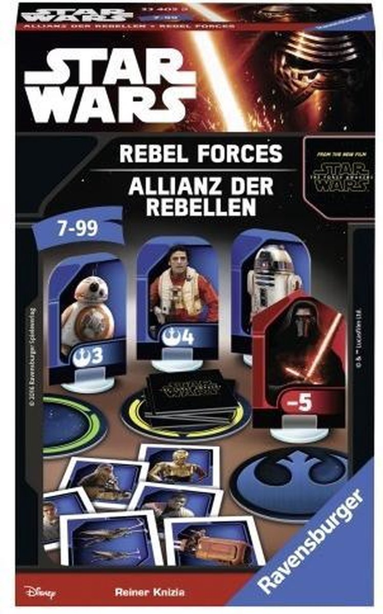 Ravensburger Star Wars: Rebel Wars Reisspel