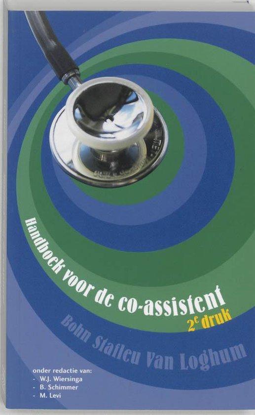 Handboek voor de co-assistent - Nvt. |