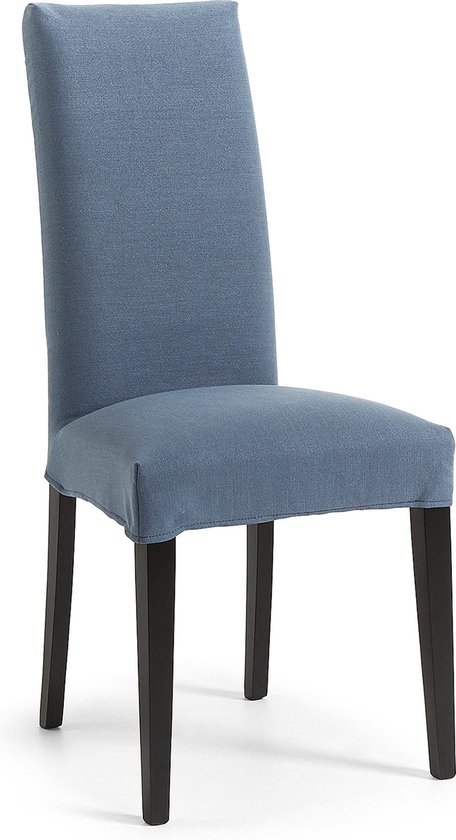 Kave Home - Freda stoel Bulova blauw en zwart