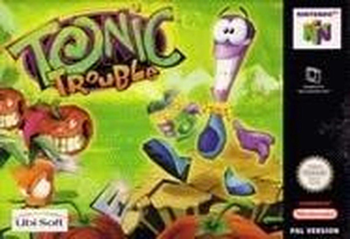 Tonic Trouble - Nintendo 64 [N64] Game PAL - Overig