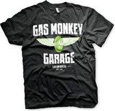 GAS MONKEY - T-Shirt Wheels (S)