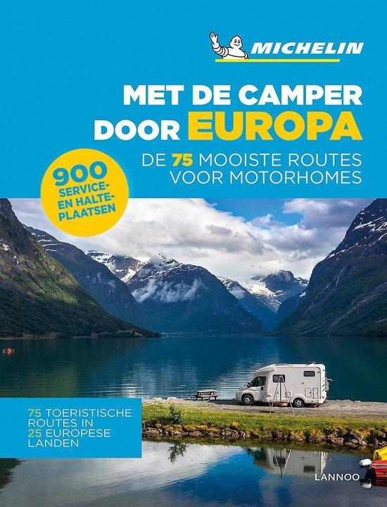 Boek cover Met de camper door Europa van  (Paperback)