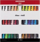 Amsterdam Standard acrylverf 36 tubes 20ml