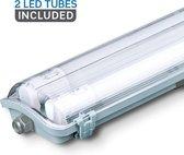 V-tac LED TL Armatuur 120cm - 36W - 4000K - 3400 Lumen - IP65