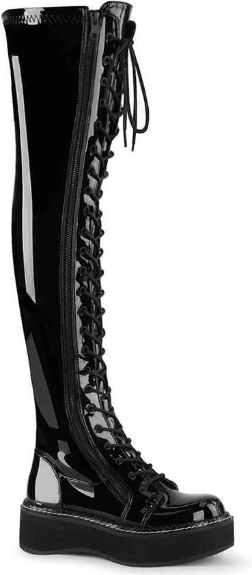 Demonia Kniehoge laarzen 37 Shoes EMILY 375 Zwart