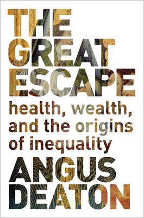 Boek cover The Great Escape van Angus Deaton (Paperback)