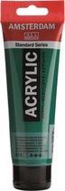 Amsterdam Standard Acrylverf 120ml 619 Permanentgroen donker