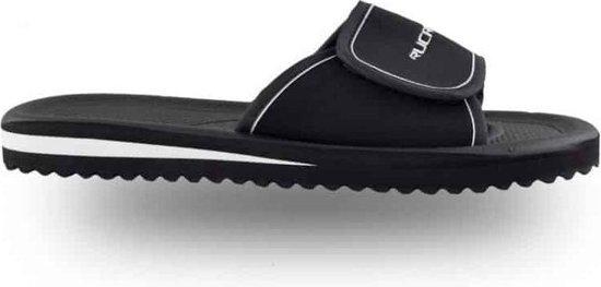 Rucanor Bad - Slippers - Unisex - Maat 45 - Zwart/Wit