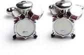 Manchetknopen - Drumstel Trommels