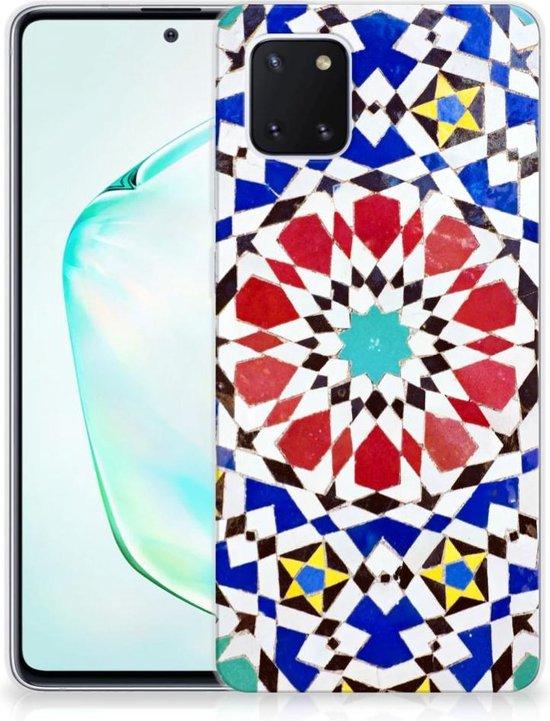 TPU Siliconen Hoesje Samsung Galaxy Note 10 Lite Mozaïek