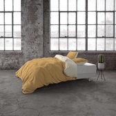 Dekbedovertrek Twin Face - Percale - Taupe/Wit - DreamHouse Bedding