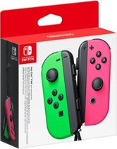 Cover van de game Nintendo Switch Joy-Con Controller paar - Neon Green en Neon Pink