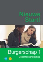 Boek cover Nieuwe Start! Burgerschap deel 1 Docentenhandleiding van Ncb